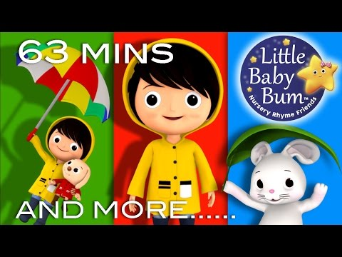 I Hear Thunder | Plus Lots More Nursery Rhymes | 63 Minutes Compilation from LittleBabyBum!