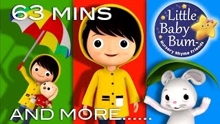 I Hear Thunder | And More Nursery Rhymes | From LittleBabyBum