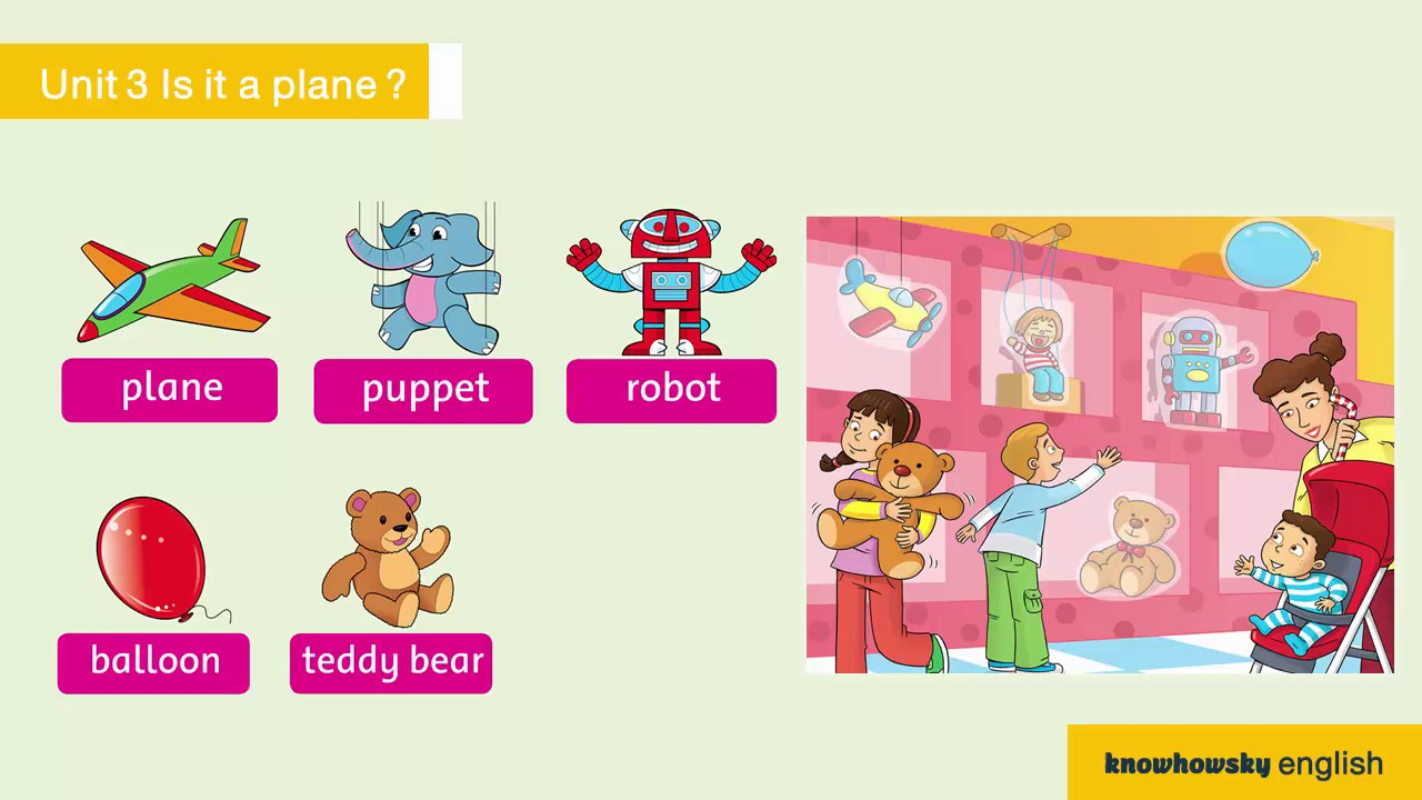 Family and Friends Grade 1 Unit 3 Is it a plane ? - YouTube