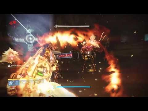 Destiny,   Titan,  Sun  Breaker  Class ....Hammer  Time  !
