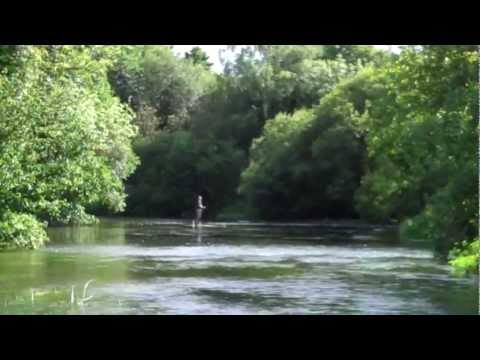 The scenic River Itchen in Hampshire