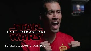 Star Wars: Los Últimos Jedi - Making of 'Los Jedi del Deporte' HD