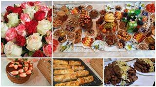ДЕНЬ РОЖДЕНИЯ МАМЫ- СВЕКРОВИ/ Как отметили /Торт прага /Корейский салат с огурцом и мясом.