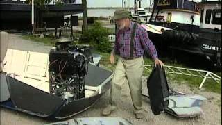 """the Red Green Show"": Handyman Corner: Making An Airboat Out Of The Old Possum Van."