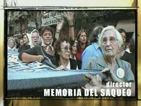 CinemaTV - Micro Cine Documental (Memoria del saqueo) - 2004