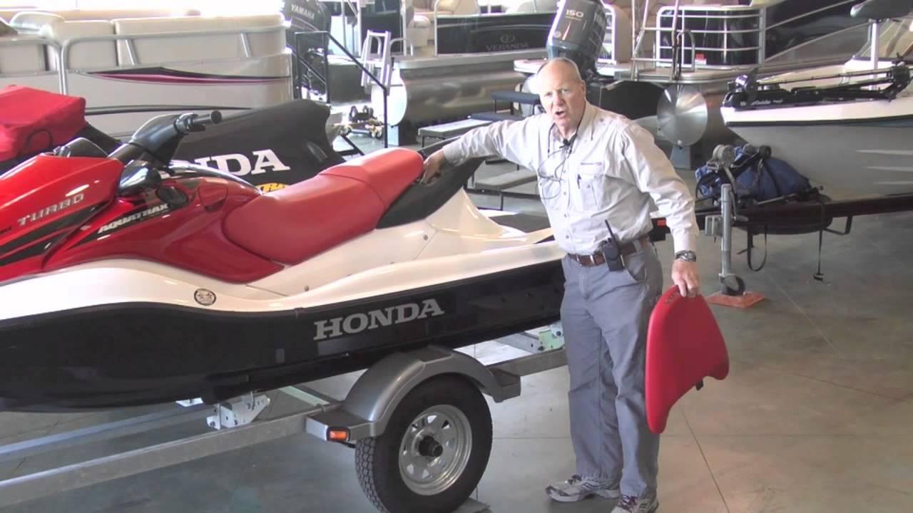 2006 Honda Aquatrax F-12x  Two  With New Trailer