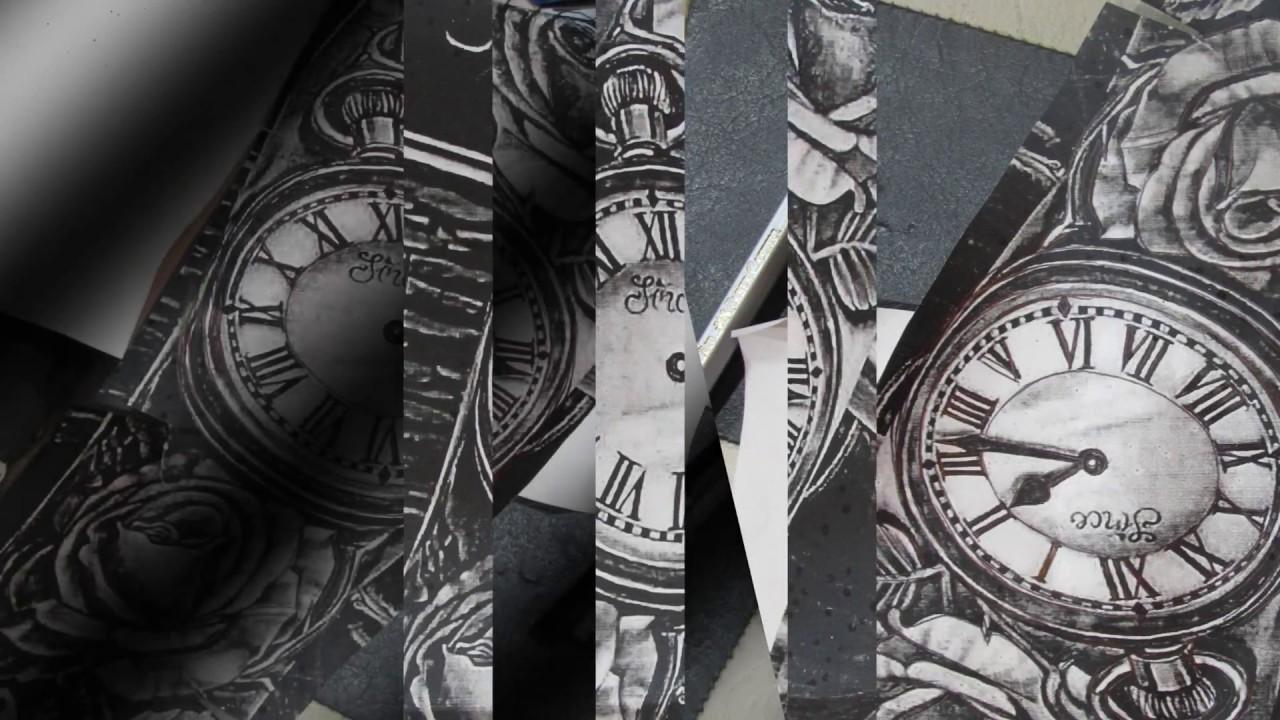 Reloj Y Rosas Tattoo Youtube