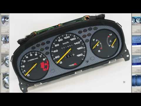 JDM OEM CTR Honda carbon cluster EK9 Type R