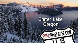 Dashcam Tour of Crater Lake National Park, Oregon