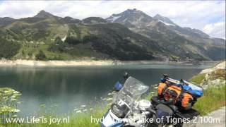 French Alps on BMW R1200GS motorbike motorcycle moto Telegraphe Galibier Alpe D'Huez L'Iseran L