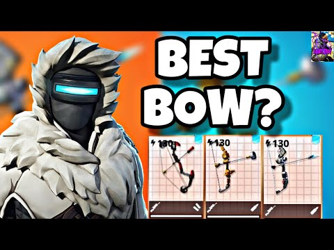 WHICH IS THE BEST RANGED BOW IN FORTNITE SAVE THE WORLD