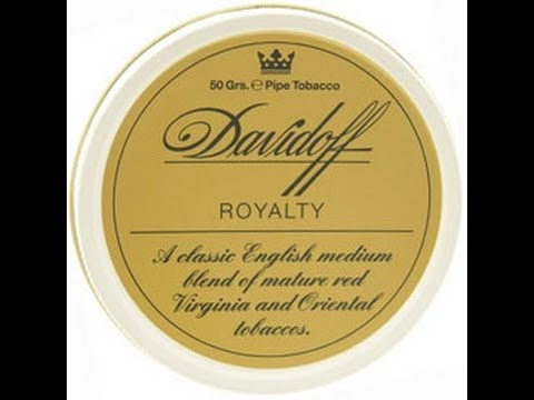 """Tobacco Review : Davidoff """"Royalty"""" Pipe Tobacco...Happy IPSD!!!"""