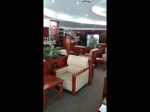 Vietnam Airlines Business Class Lounge at Hanoi Airport