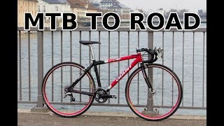 Old MTB to road bike conversion
