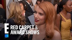 Emma Roberts Gives Shout Out to Aunt Julia Roberts at the 2017 Oscars | E! Red Carpet & Award Shows