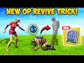 *NEW* SUPER OP REVIVE TRICK! - Fortnite Funny Fails and WTF Moments! #467