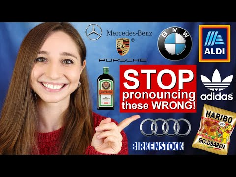 15 German brands YOU pronounce WRONG! | German Girl in America