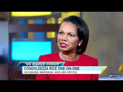 Condoleezza Rice stands by her work and personal life on morning TV