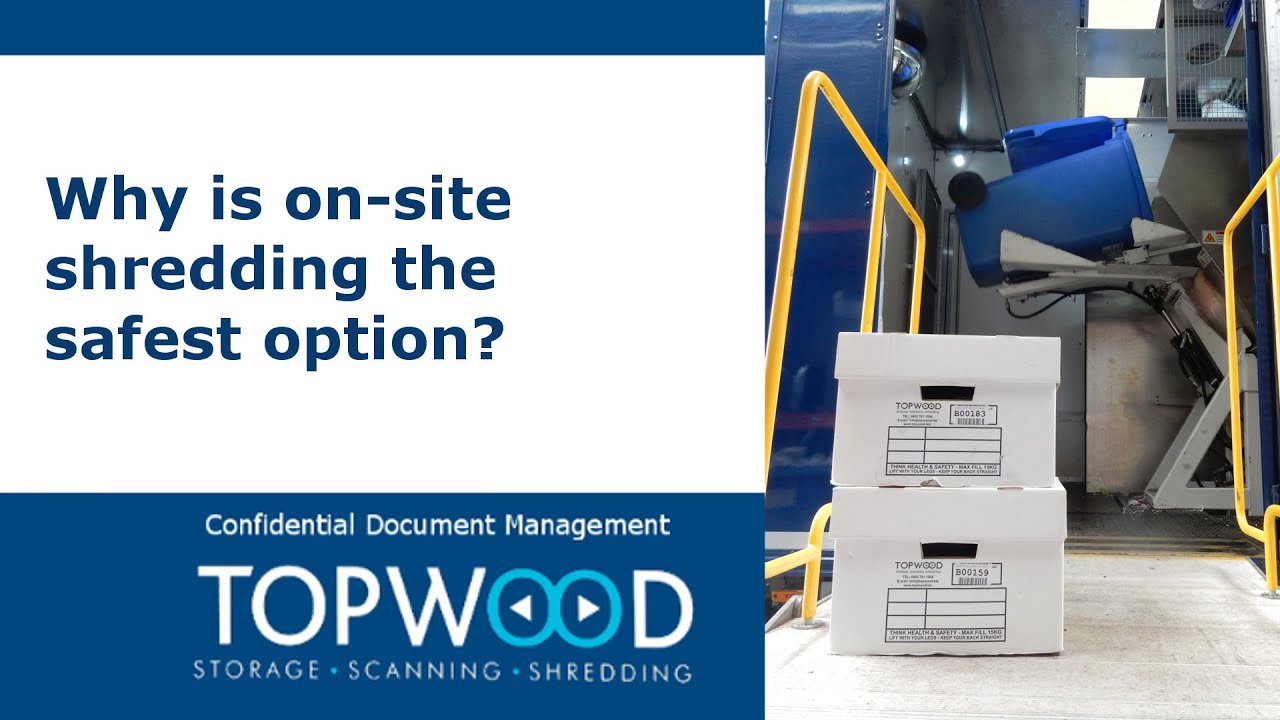 Shredding Birmingham | Topwood Ltd