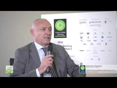 Intervista a Alessandro Signorini | 8° edizione Green Globe Banking Conference