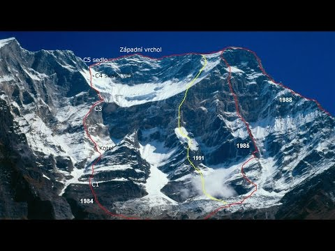 Reminiscences of West face of Dhaulagiri 1984 (with subtitles)