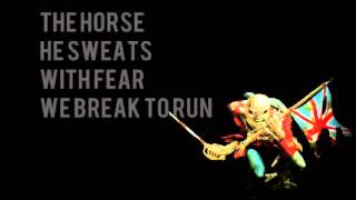 The Trooper - Iron Maiden (Lyrics)