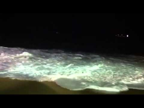 High tides in Luanda Angola.