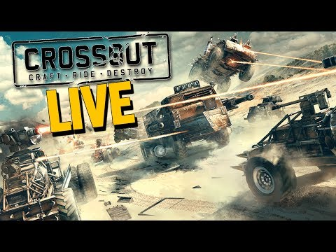 Crossout VEHICULAR DESTRUCTION Crossout (Crossout Open Beta Gameplay Stream Highlight Part 1)