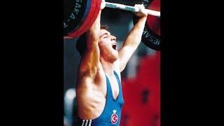 Naim Suleymanoglu winning Gold in Melbourne 1993 World Weightlifting Championships