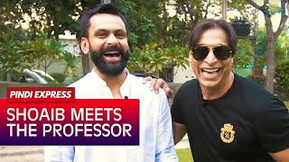 Shoaib Akhtar | Shoaib Meets The Professor | Muhammad Hafeez | Interview | Promo