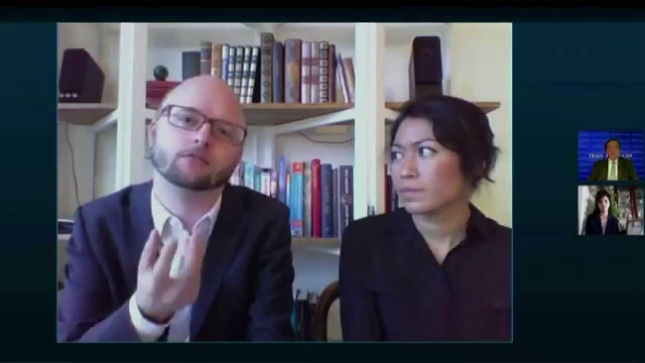 Des jeunes parlent des droits de l'homme en Iran et de leurs engagements
