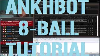 AnkhBot Tutorial | Making an 8-Ball Command | Integrate with Currency!
