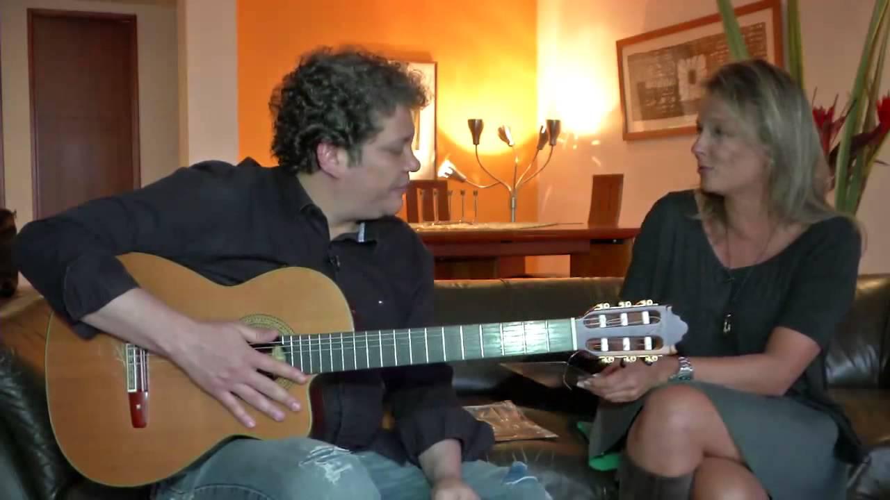 Músico Chabuco Martínez una mezcla entre vallenato y flamenco