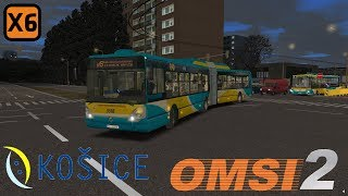OMSI 2 Irisbus Citelis 18M CNG #3318, Košice fiktívna Lx6