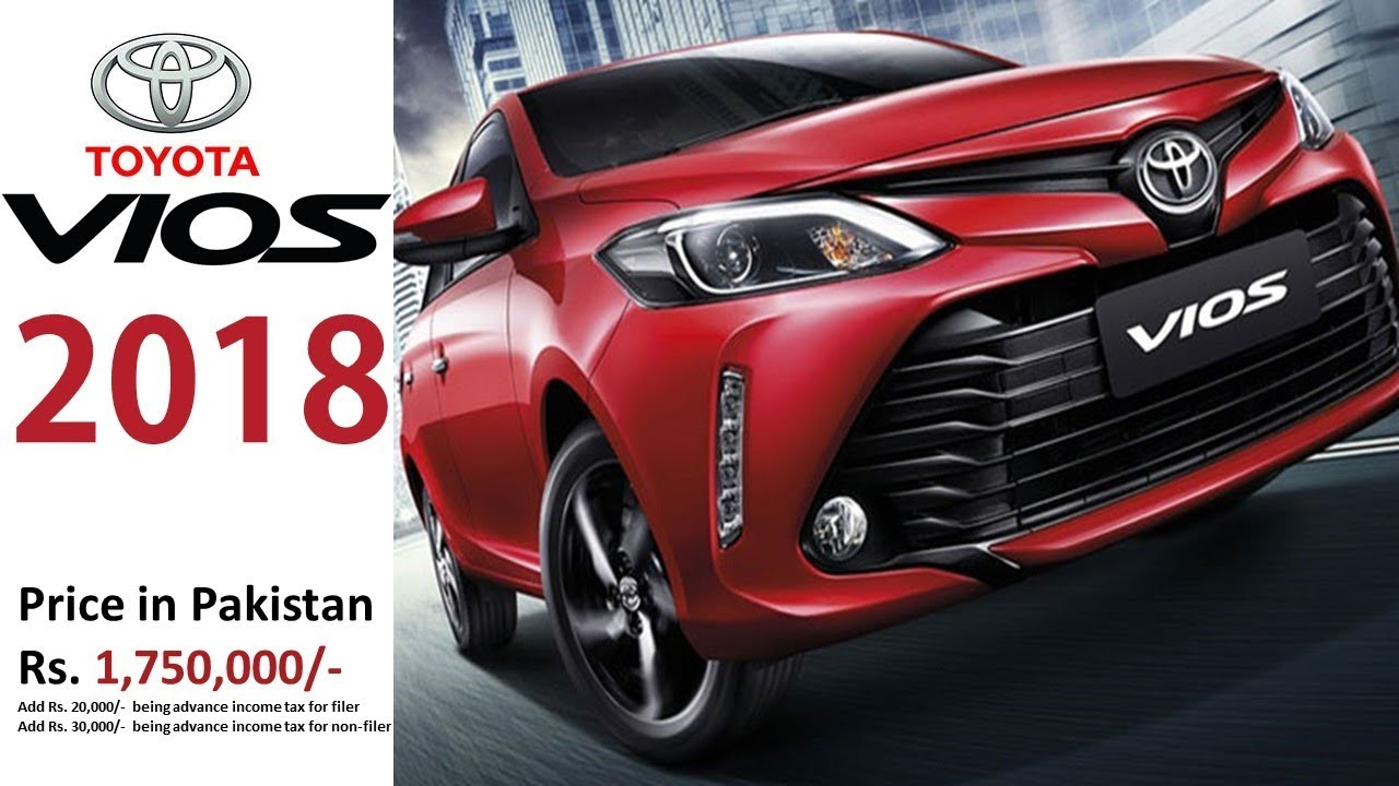 Toyota Vios To Be Launched In Pakistan By 2019 Youtube