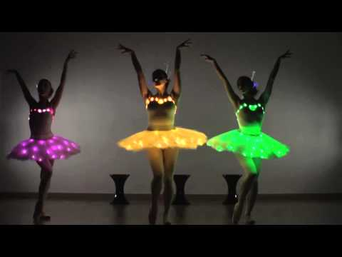 LED Ballerinas - Modern Ballet Show - Contraband Events