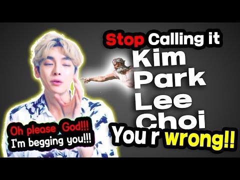 Korean Names YOU Always Pronounce INCORRECTLY