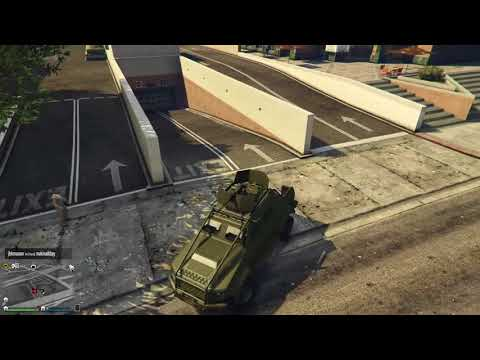 GTA Online - Using Proximity Mines On Unsuspecting Player With A Bounty
