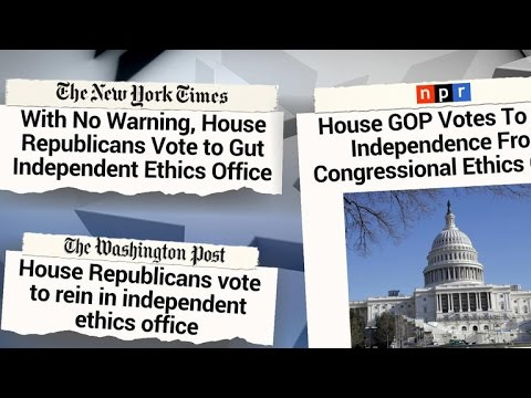 House Republicans start new year with Office of Congressional Ethics shake-up