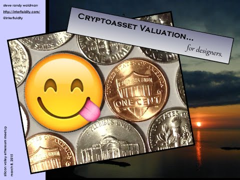 Cryptoasset Valuation for Designers