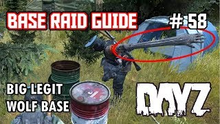 Big Legit Wolf Base - DayZ SA - Base Raid Guide #58 - Inquisam