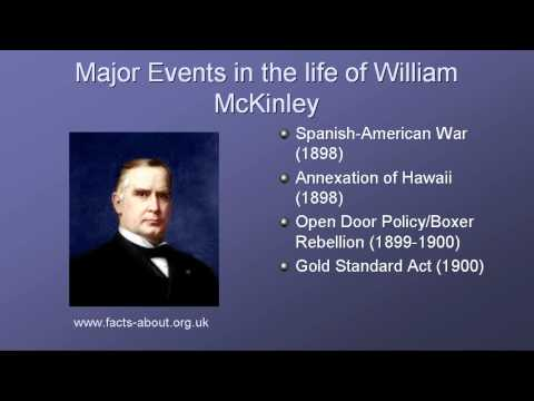 President William Mckinley Biography