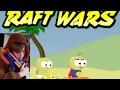 Raft Wars | Boat Wars | Episode 1