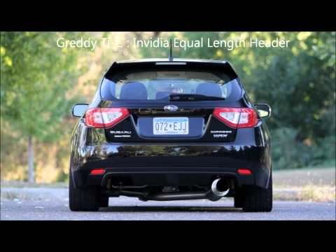 2011 WRX - Stock Unequal Length Headers vs. Invidia Equal Length Headers