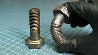 RUBBER METAL? Safe, Realistic Film Props | Silicone Bolt