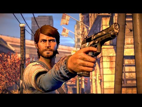 Javier Shoots Joan and Saves David's Life (Walking Dead | Death | Telltale Games)