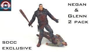 The Walking Dead SDCC Exclusive Negan & Glenn 2 pack