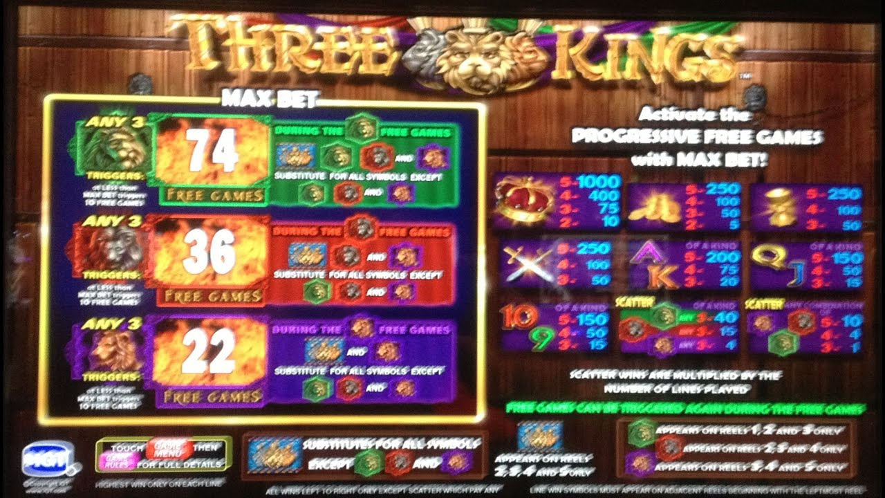 Three Kings Slot Machine