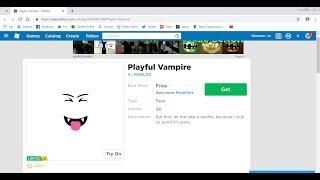 Comment obtenir Vampire ludique dans Roblox gratuit