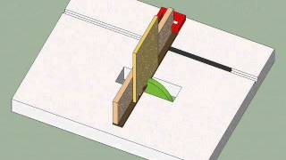 Animation Of Making Wood Box Joints On The Table Saw